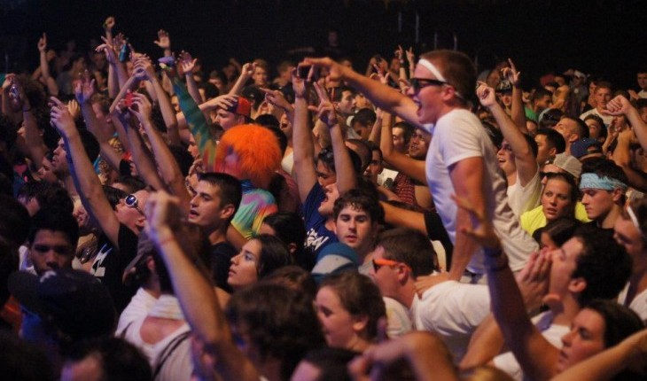 Electronic Subculture Sweeps Albany: Armory Hosts Foam Fest