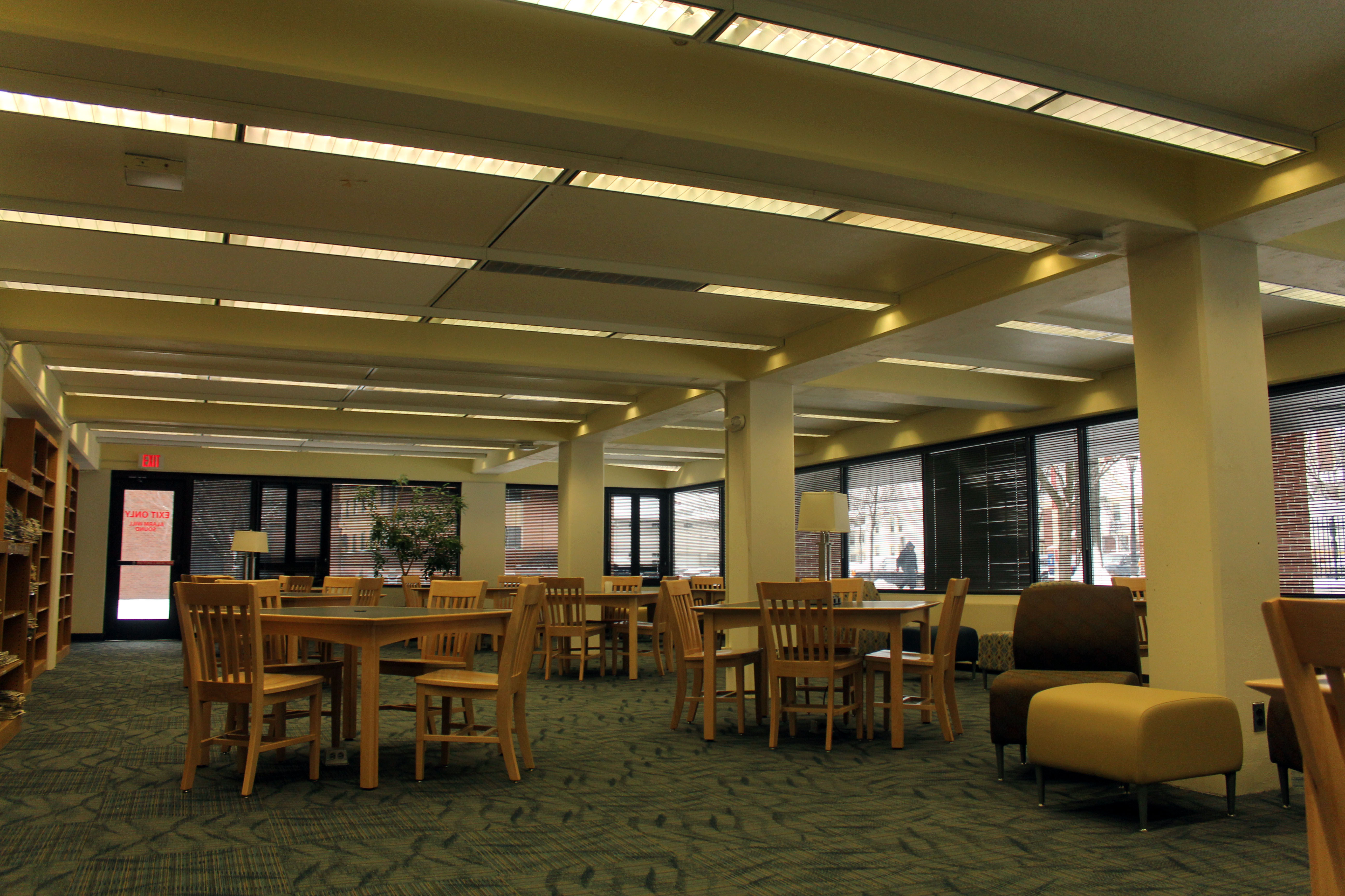 The Saint Rose Chronicle Photos Library Renovated