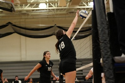 Felter began playing volleyball in seventh grade and has not stopped
